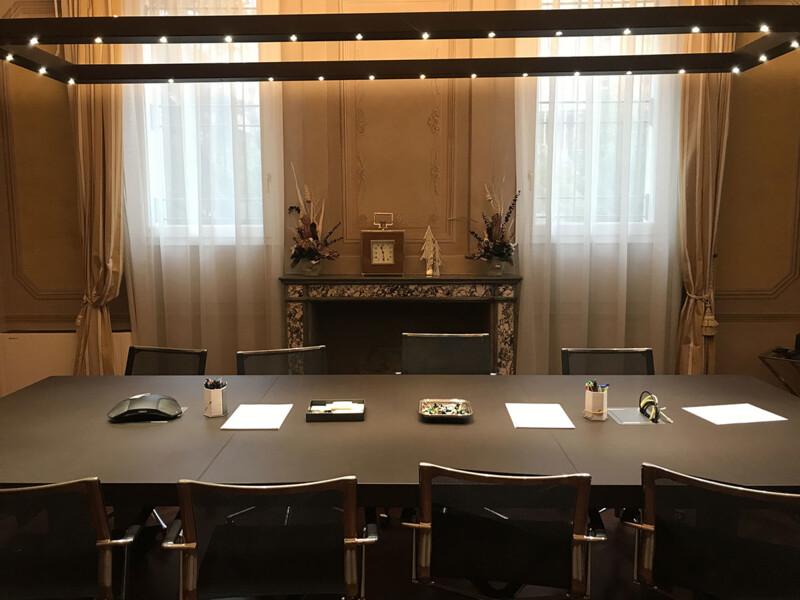 Sala riunioni dello Studio Berti Rizzoli
